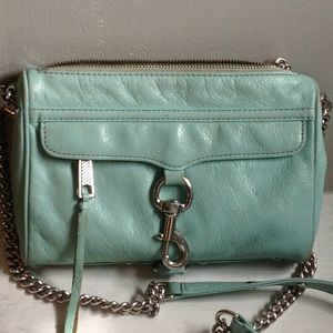 Rebecca Minkoff Light Blue/Green Purse